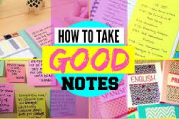 How to Make Notes for Exams